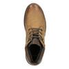 Skórzane zimowe buty męskie bata, brązowy, 896-3681 - 15