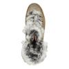 Zimowe buty damskie zfuterkiem bata, brązowy, 596-3675 - 15