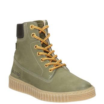 Zimowe buty dziecięce zociepliną mini-b, zielony, 496-3620 - 13