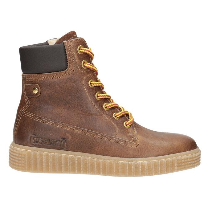 Brązowe zimowe obuwie dziecięce mini-b, brązowy, 496-4620 - 26