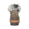 Zimowe buty damskie zfuterkiem bata, brązowy, 596-3675 - 16