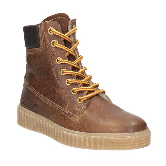 Brązowe zimowe obuwie dziecięce mini-b, brązowy, 496-4620 - 13
