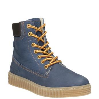 Zimowe buty dziecięce zociepliną mini-b, niebieski, 496-9620 - 13