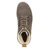 Zimowe buty damskie ze skóry weinbrenner, brązowy, 596-4666 - 15