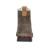 Zimowe buty damskie ze skóry weinbrenner, brązowy, 596-4666 - 16