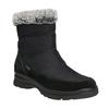 Damskie śniegowce na zimę comfit, czarny, 599-6618 - 13