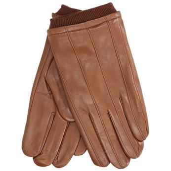 Brązowe skórzane rękawice bata, brązowy, 904-3117 - 13