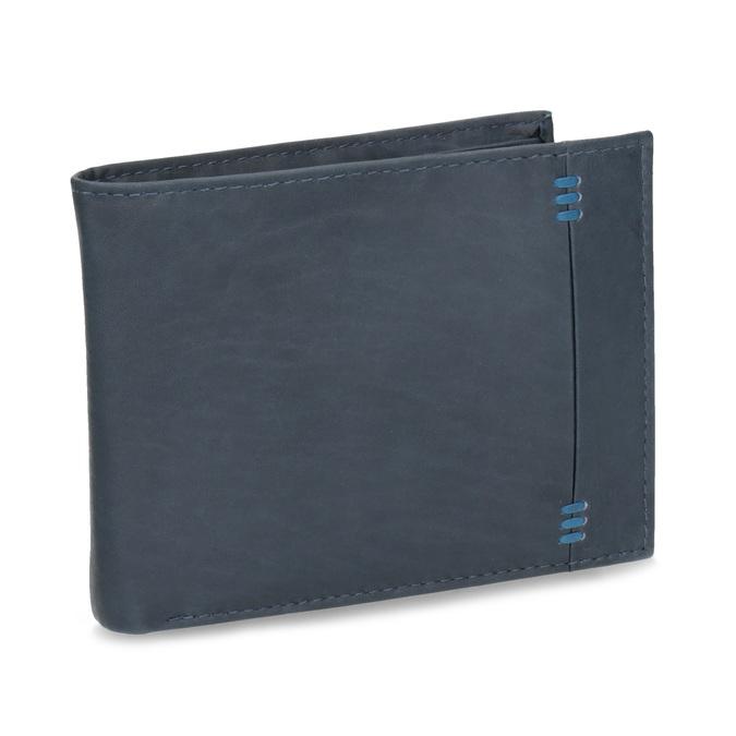 Skórzany portfel męski bata, niebieski, 944-9188 - 13