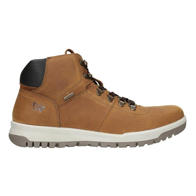 Skórzane buty męskie za kostkę weinbrenner, brązowy, 896-3701 - 26