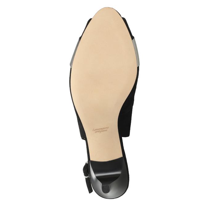 Wyjściowe czółenka damskie bata, czarny, 623-6604 - 19