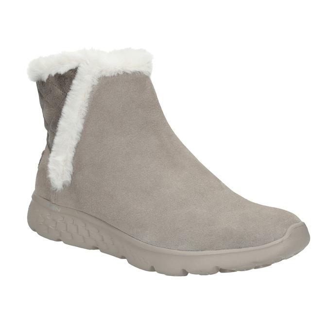 Zamszowe obuwie damskie skechers, 503-3326 - 13