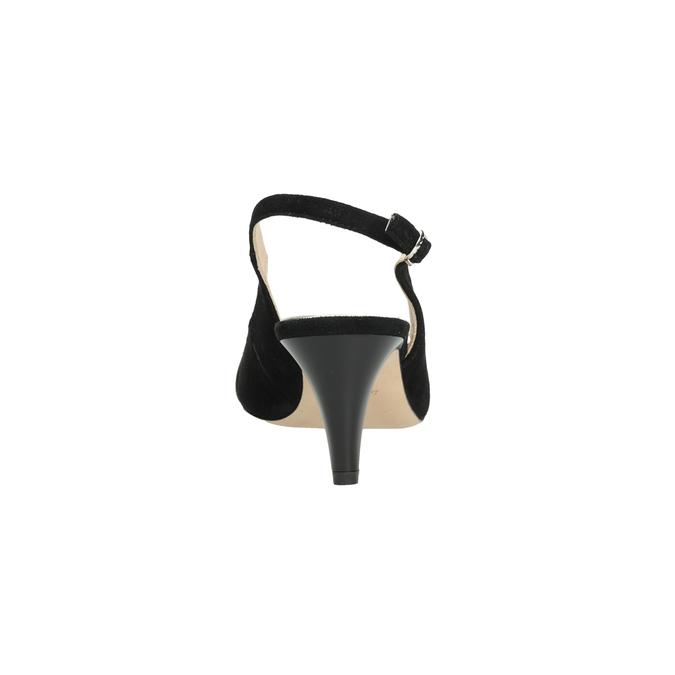 Wyjściowe czółenka damskie bata, czarny, 623-6604 - 15