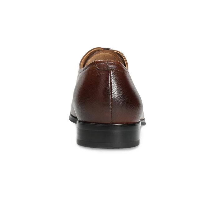 Brązowe skórzane półbuty typu oksfordy bata, brązowy, 826-3808 - 15
