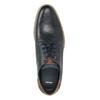 Skórzane półbuty męskie typu angielki bata, niebieski, 826-9924 - 15