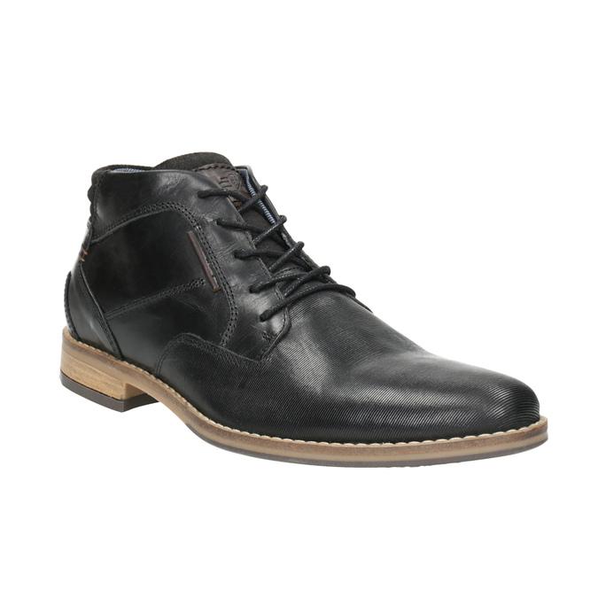 Męskie buty za kostkę bata, czarny, 826-6926 - 13
