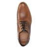 Brązowe skórzane półbuty bata, brązowy, 826-3924 - 15