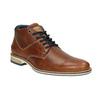 Skórzane buty męskie za kostkę bata, brązowy, 826-3925 - 13