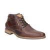 Skórzane buty męskie za kostkę bata, brązowy, 826-3926 - 13