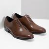 Brązowe skórzane półbuty typu oksfordy bata, brązowy, 826-3852 - 26