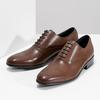 Brązowe skórzane półbuty typu oksfordy bata, brązowy, 826-3852 - 16