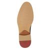 Granatowe nieformalne półbuty ze skóry bata, niebieski, 826-9853 - 17
