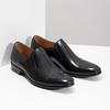 Skórzane mokasyny męskie bata, czarny, 814-6626 - 26
