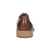 Brązowe nieformalne półbuty ze skóry bata, brązowy, 826-3853 - 16