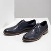 Granatowe skórzane półbuty bata, niebieski, 826-9810 - 16
