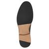 Granatowe skórzane półbuty bata, niebieski, 826-9810 - 17