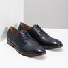 Granatowe skórzane półbuty bata, niebieski, 826-9997 - 26
