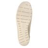 Skórzane slip-on na koturnach bata, 626-8646 - 17