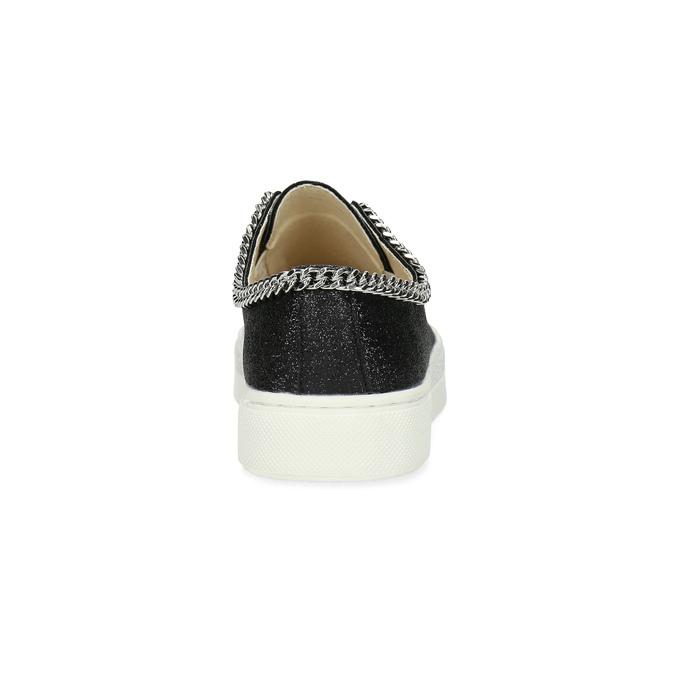 Trampki dziecięce złańcuszkiem mini-b, czarny, 321-6307 - 15