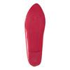 Czerwone lakierowane baleriny bata, czerwony, 521-0602 - 17