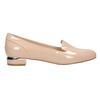 Beżowe loafersy na niskich obcasach bata, beżowy, 511-8608 - 26