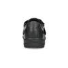 Skórzane sandały męskie weleganckim stylu pinosos, czarny, 864-6625 - 15