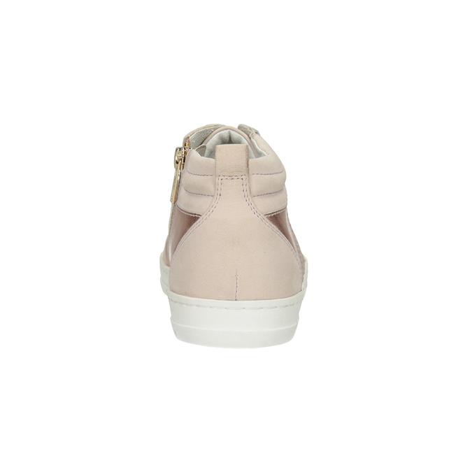 Trampki damskie za kostkę bata, różowy, 546-5608 - 16