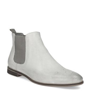 Skórzane obuwie damskie typu chelsea bata, szary, 596-1684 - 13