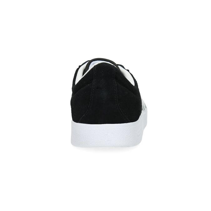 Czarne zamszowe trampki damskie adidas, czarny, 503-6379 - 15