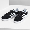 Czarne zamszowe trampki damskie adidas, czarny, 503-6379 - 16