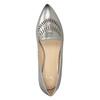 Skórzane obuwie damskie zperforacją bata, 526-1659 - 17