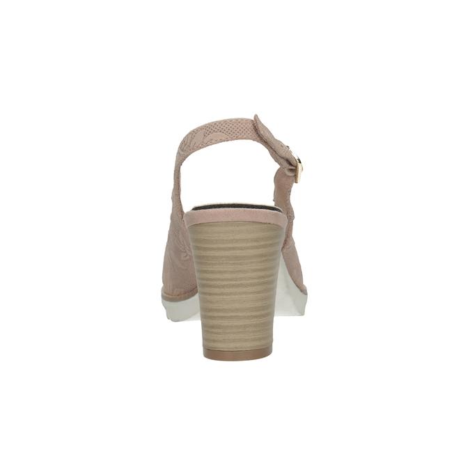 Czółenka damskie bez pięty pillow-padding, 726-5651 - 16