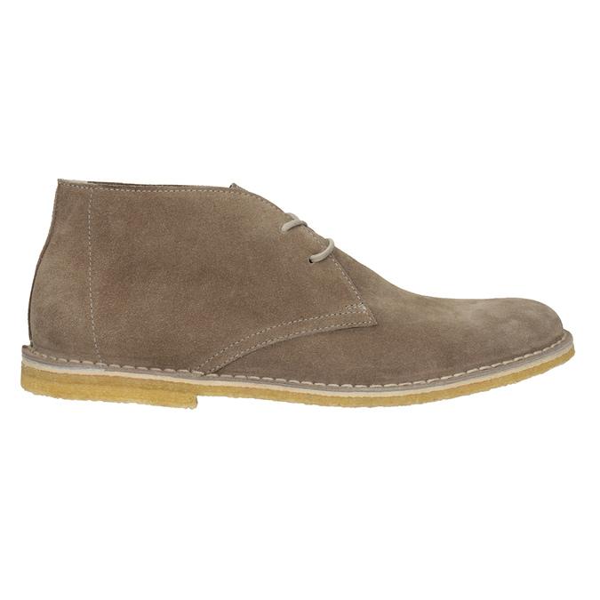 Skórzane buty pustynne męskie bata, 823-8622 - 16