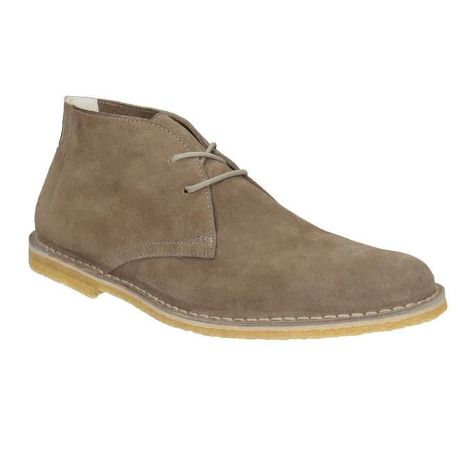 Skórzane buty pustynne męskie bata, 823-8622 - 13