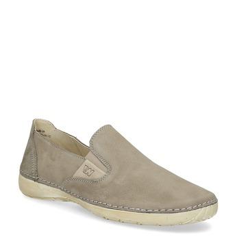 Skórzane obuwie typu slip-on weinbrenner, brązowy, 536-3606 - 13