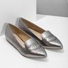 Skórzane obuwie damskie zperforacją bata, 526-1659 - 26