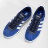 Niebieskie zamszowe trampki adidas, niebieski, 803-9979 - 16