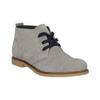 Skórzane buty pustynne dla dzieci mini-b, szary, 313-3144 - 13