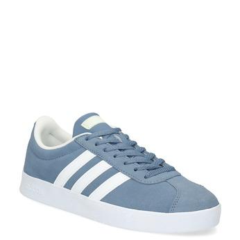 Błękitne zamszowe trampki adidas, niebieski, 503-2379 - 13