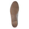 Szare skórzane mokasyny bata, szary, 513-2615 - 18