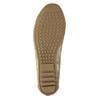 Złote baleriny damskie bata, 529-8640 - 17